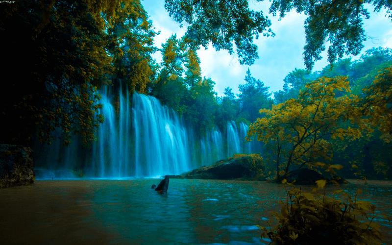 Дюденский водопад, Анталья