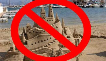 Пляжи на Майорке: из песка не строить!