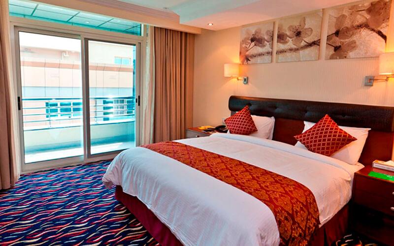 Номер в Cassells Al Barsha Hotel 4*, Дубай, ОАЭ