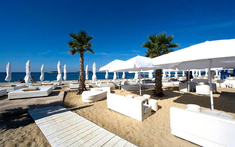 Пляж, Delfin Hotel 2*, Пореч, Хорватия
