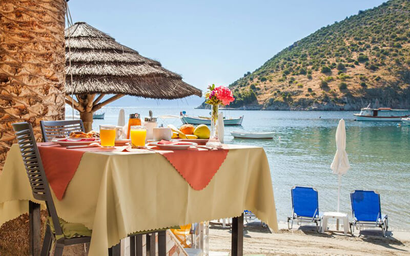 Ресторан в Dolfin Hotel 3*, Пелопоннес, Греция
