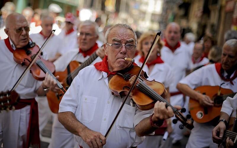 Музика на фестиваль Сан-Фермін