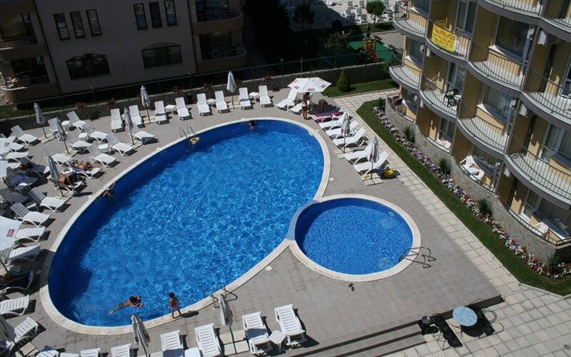 Басейн, готель Jasmin Club 3*, Сонячний берег, Болгарія