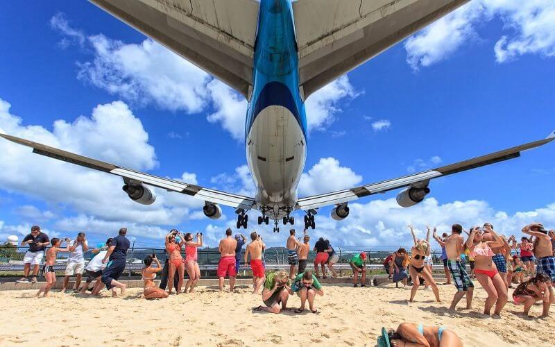 Пляж Махо