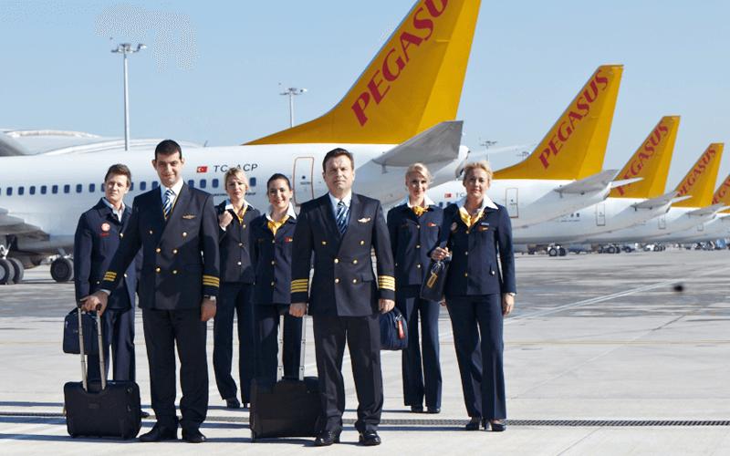екіпаж авіакомпанії Pegasus