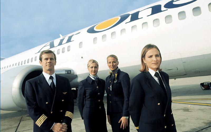 екіпаж авіакомпанії Air One
