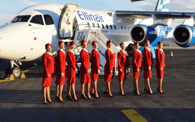 екіпаж авіакомпанії Ellinair