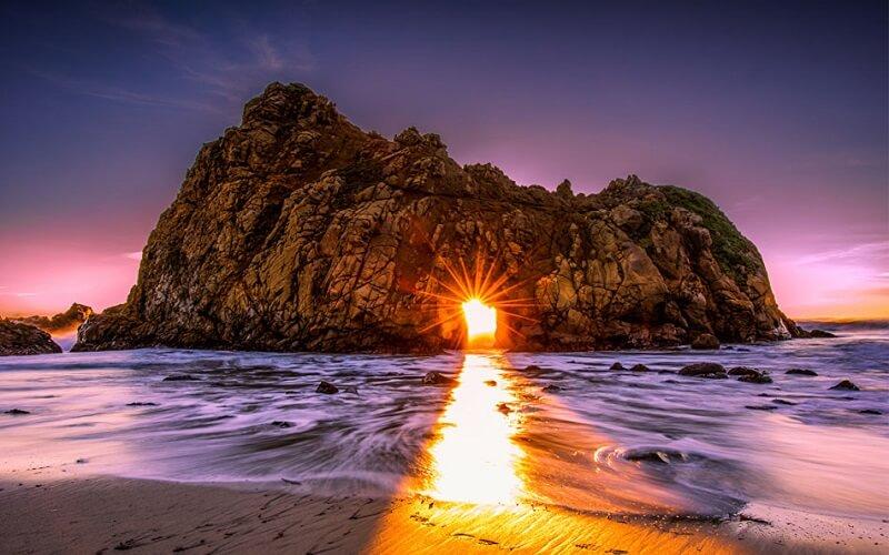 скляний пляж
