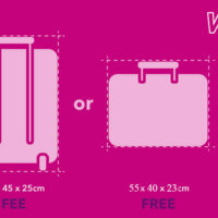 Wizz air оголосив про скасування плати за ручну поклажу
