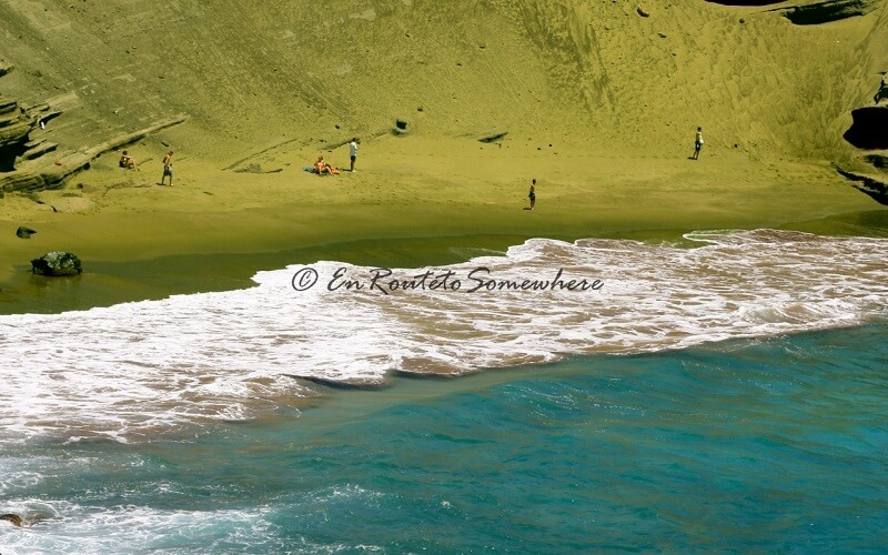 Зелений пляж