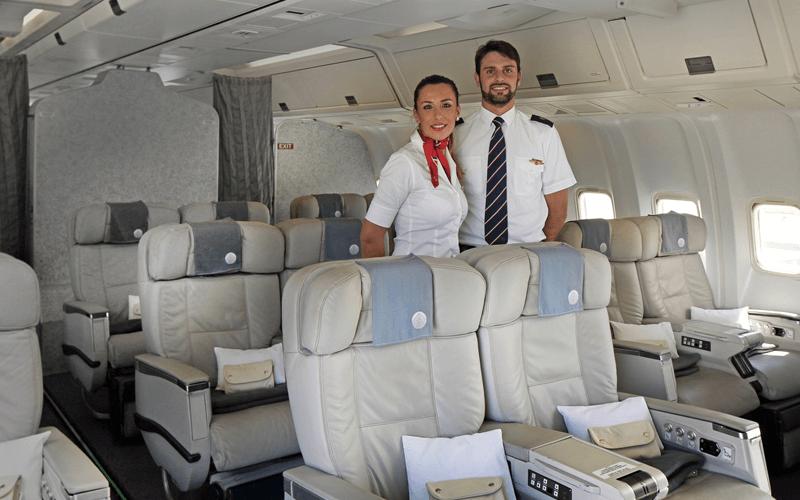 экипаж авиакомпании Meridiana