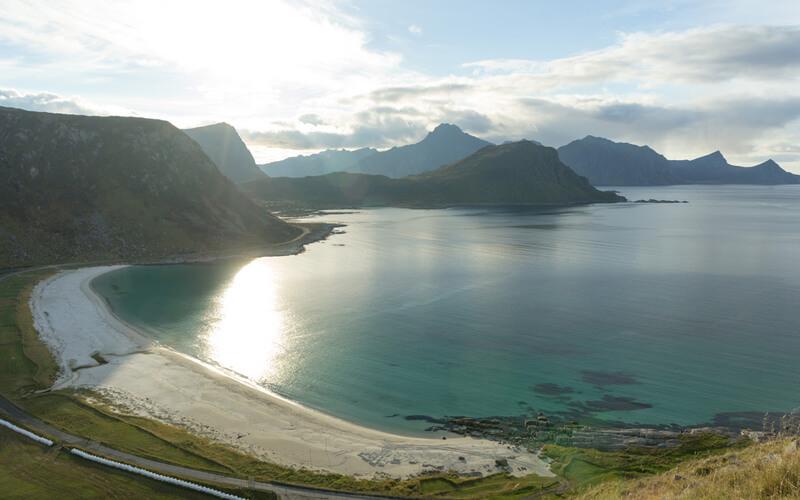 Пляжи Норвегии