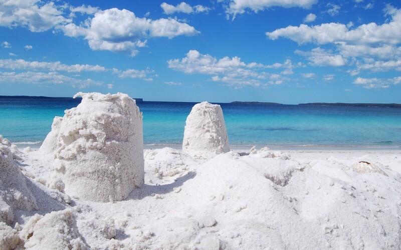 Білосніжний пляж Хайамс Біч, Сідней
