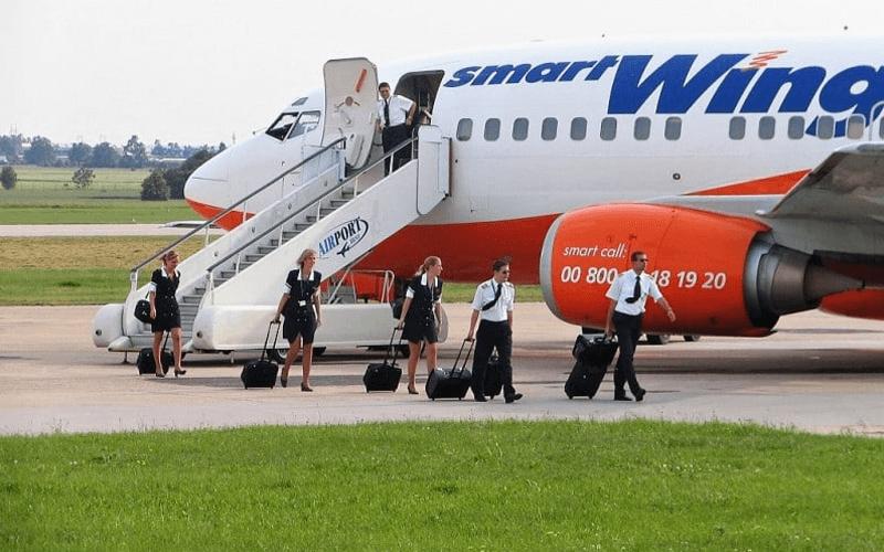экипаж авиакомпании Smart Wings