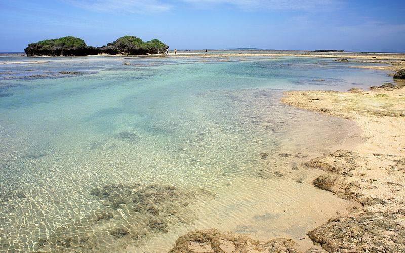 Зоряний пляж, Іріомоте