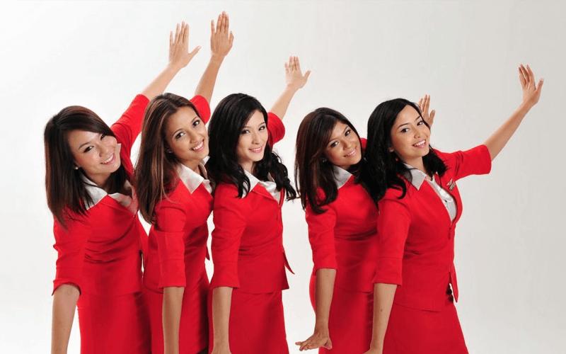 Экипаж авиакомпании AirAsia