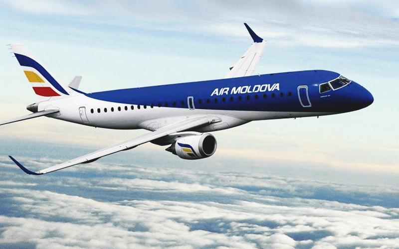 Літак авіакомпанії Air Moldova