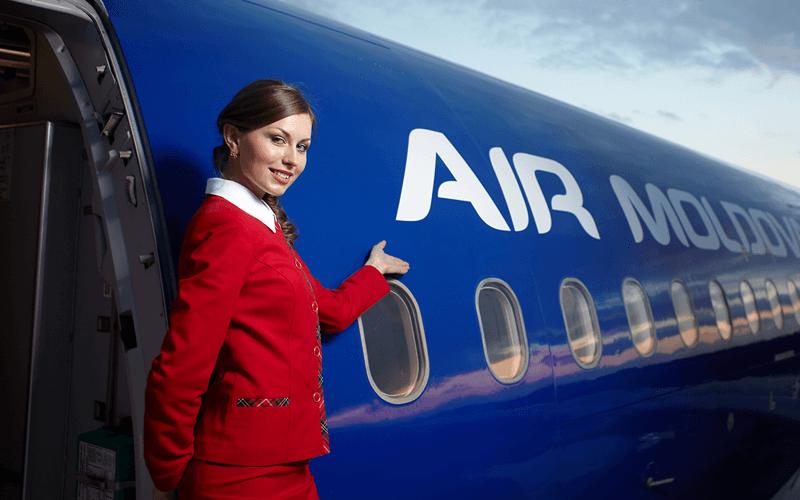 Стюардеса Air Moldova