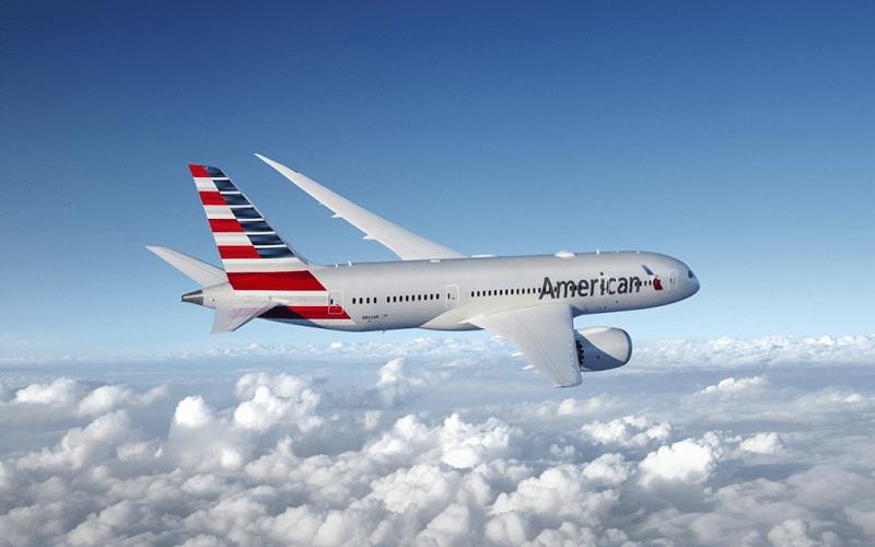 Літак авіакомпанії American Airlines