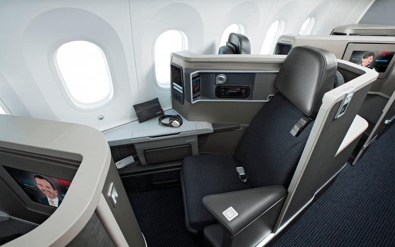 Салон American Airlines