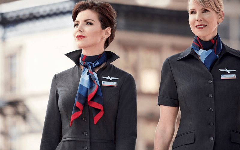 Стюардесса American Airlines