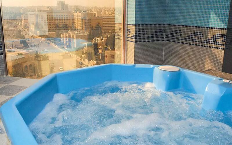 Джакузі в готелі Belle Vue 4*, Йорданія, Амман