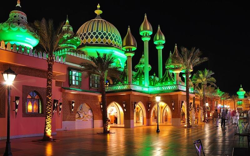 Дворец «1000 и одна ночь», Египет
