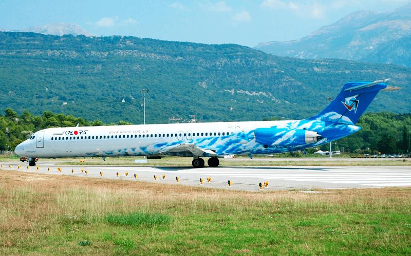 Літак авіакомпанії Khors Air