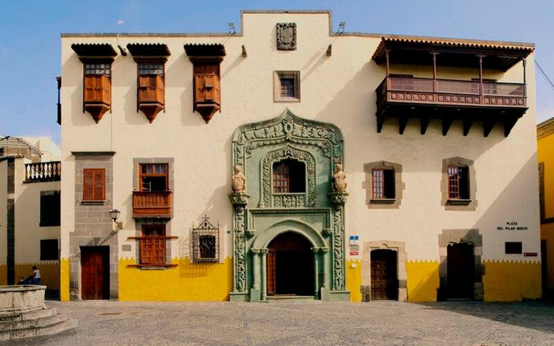 дом Колумба в Лас-Паольмас-де-Гран-Канарии
