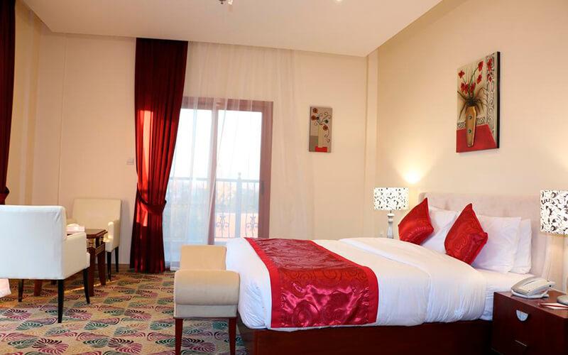 Номер в Red Castle Hotel 4*, Шарджа, ОАЭ