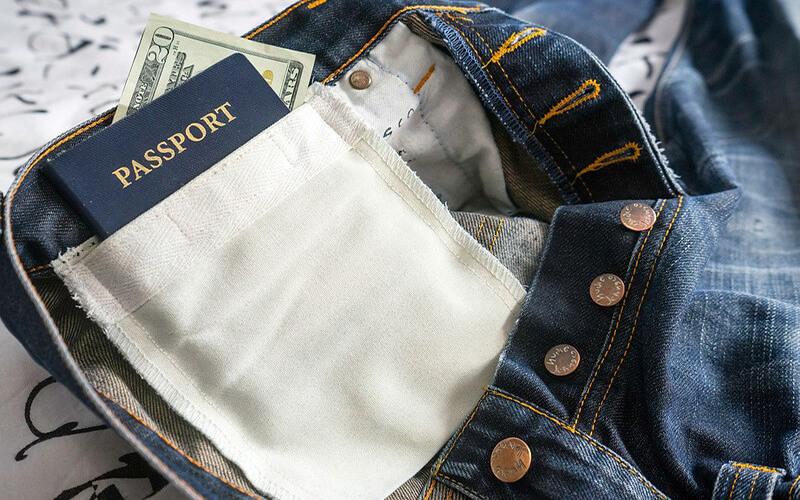 где хранить деньги в путешествии