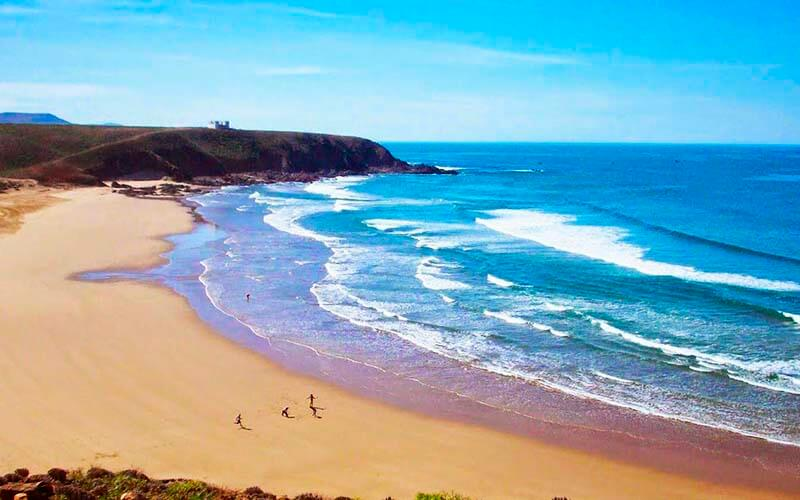 Пляжный сезон в Марокко
