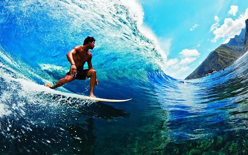 Серфинг на Бали в осенний период