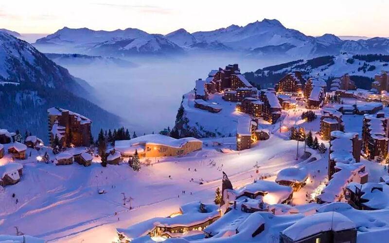Лыжный отдых в ноябре во Франции