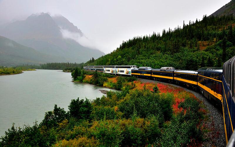 Потяги в США