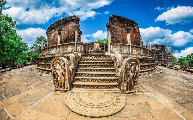 Шри-Ланка храм
