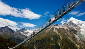 Швейцария побила рекорд по длине подвесного моста