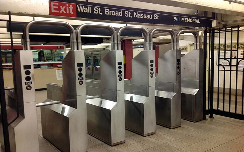 Турнікети в метро США