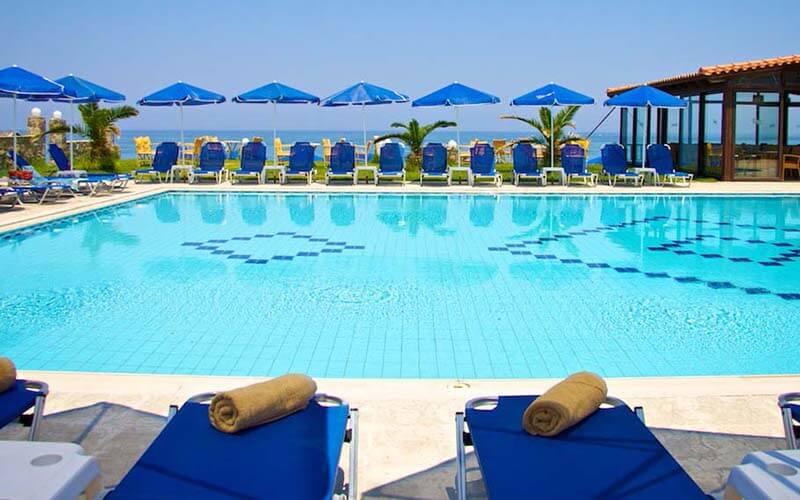 Бассейн, отель Bomo Club Krini Beach 3*, о. Крит