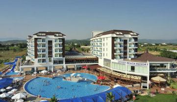 Cenger Hotel Beach Resort & Spa 5*, Сиде, Турция