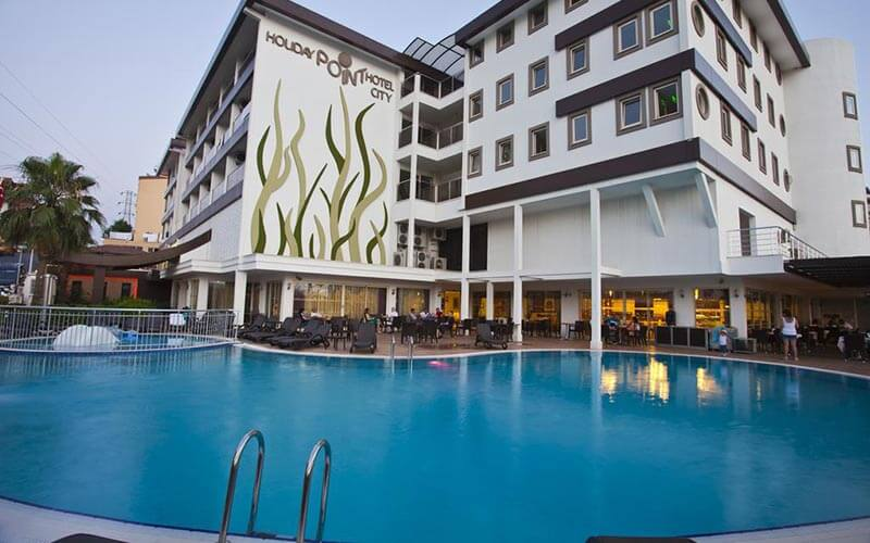 Басейн в Holiday Point Hotel City 4*, Сіде, Туреччина