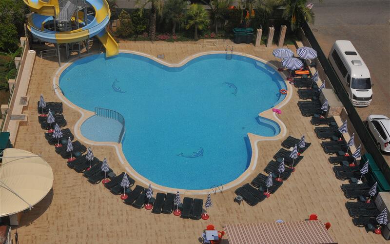 Бассейн в Holiday Point Hotel City 4*, Сиде, Турция
