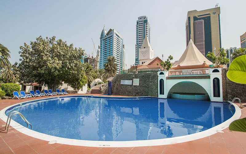Бассейн Marbella Resort Sharjah 4*, Шарджа, ОАЭ