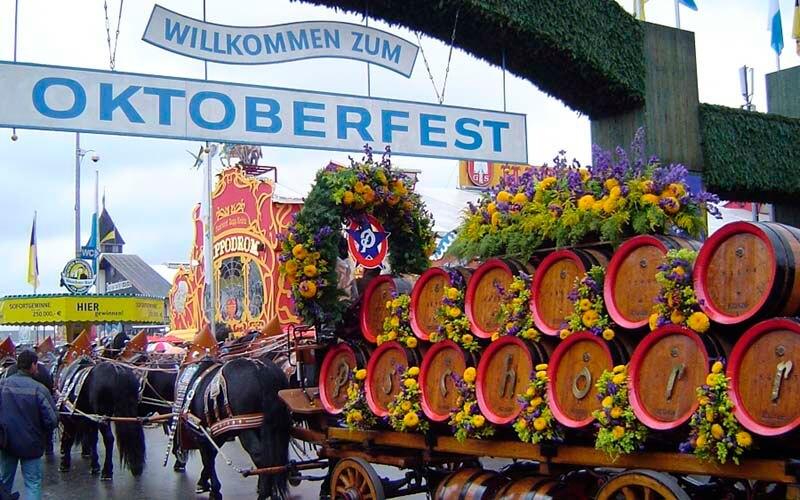 Въезд пивоваров на Октоберфест