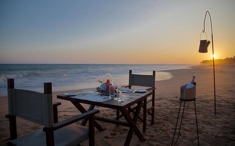 Пляж, отель Portofino Resort Tangalle 4*, Тангалле, Шри-Ланка