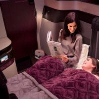 Qatar Airways предложит авиапассажирам двуспальную кровать!