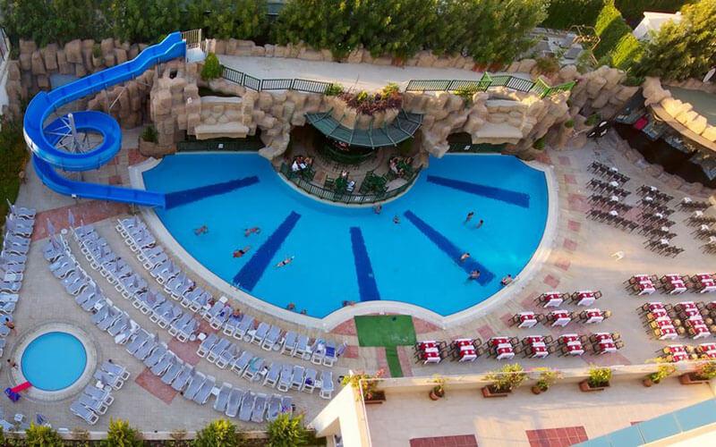 Бассейн в Timo Resort Hotel 5*, Аланья, Турция