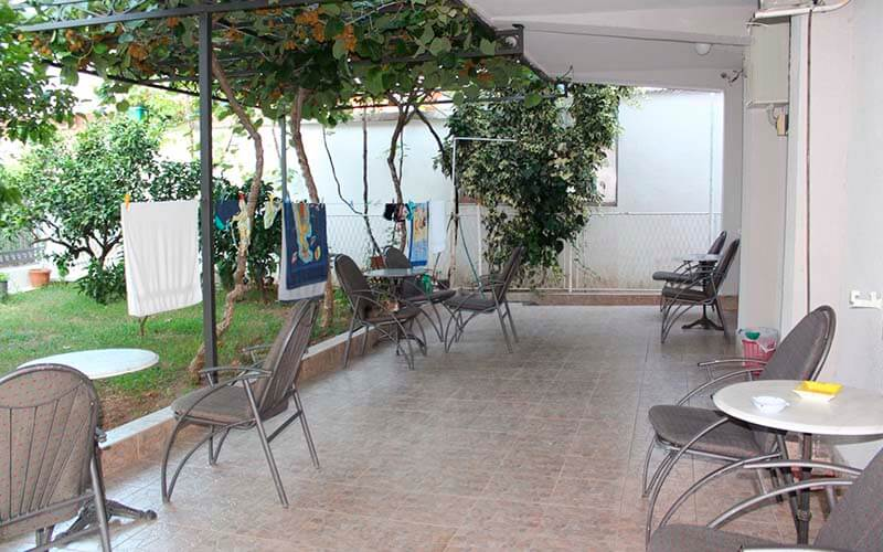 Веранда, отель Boskovic 3*, Будва, Черногория