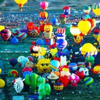 Красивый праздник в Альбукерке — фестиваль воздушных шаров 2017