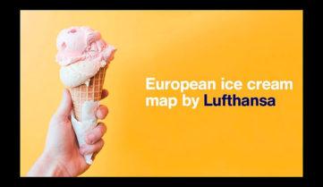 «Люфтганза» расскажет, где искать вкуснейшее мороженное Европы!